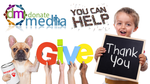 donate media